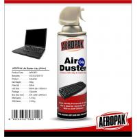 China Non Toxic Industrial Cleaning Products , Computer / Keyboard Air Duster Can wholesale