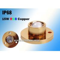 China CREE Copper 15W RGB LED Boat Light For Yacht 3 Years Warranty wholesale