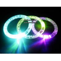 China Christmas decorate LED flashing LED wristband with factory low down price wholesale
