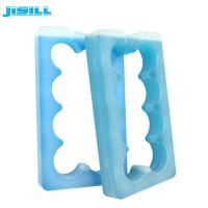 China Phase Change Material Gel Ice Packs High Density Polyethylene For Beer Bottle wholesale