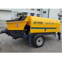 China Light Weight Schwing Concrete Pump / Small Cement Pump For Construction on sale
