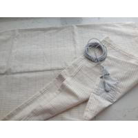 Quality antistatic silver fiber conductive fabric for earthing grounding sheet bed sheet for sale