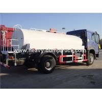 SINOTRUK HOWO Fuel Tank Truck 4x2 13 CBM With Waboc Brake System And HW70 Cabin