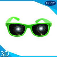 China Party  diffraction glasses spiral diffraction effect on sale