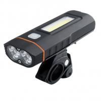 Buy cheap 20w USB Rechargeable LED Bike Light Set , COB Bicycle Light 2000lm Brightness from wholesalers