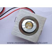 China High Power 1W 12V Adjustable Square Low Voltage Recessed LED Downlight / Downlights on sale