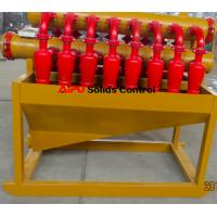 China Polyurethane hydrocyclone desilter separator in well drilling solids control wholesale