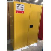 China Lab Flammable Safety Storage Cabinets With Striking Reflective Labels wholesale
