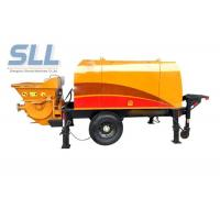 Quality Horizontal Cement Mortar Pump Machine For High Level Mortar Conveying for sale