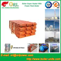 China 100 Ton Power Station Boiler Super Heater Convection Heat Insulation wholesale