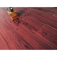 China Wine Red Bamboo Fiber Wood Style Ceramic Tile For Administration , Household wholesale