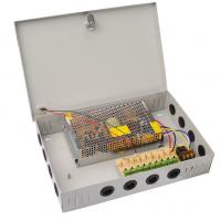 China Metal Case CCTV Power Supplies for Security Device / Long Term Mode / Auto Recovery wholesale