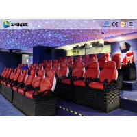 China 3 Seats / Set Bearing 450Kg 5D Movie Theater For 39 Chairs Cinema Entertainment wholesale
