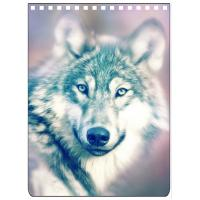 Quality Custom A4 A5 A6 Wolf Images 3D Lenticular Cover With PET / PP Friendly Material for sale
