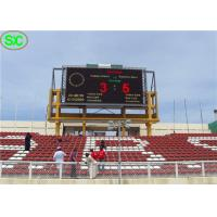 China High Definition Waterproof P10 Outdoor Led Display Stadium With Scoring System wholesale