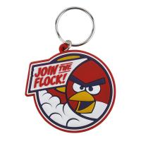 China Custom Made Cartoon Design Key Ring, 3D soft Touch PVC Rubber Key Chains on sale