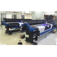 China Epson DX7 LED UV Inkjet Printer 1700mm With CMYK and White / Grossy ink wholesale