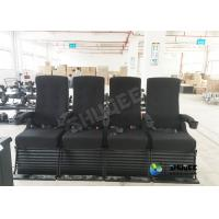 China Vibration 4D Kino Seats In 4D Movie Theater With Special Effect For 3D Films wholesale