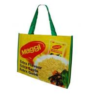 Quality Customized logo Handled Non Woven Bag & Shopping bag for Packing garment for sale