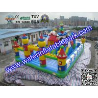 Quality Amazing Amusement Park / Inflatable Bouncy Castle Bounce Houses Rentals for sale