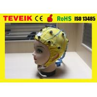China Scan Brain Integrated  EEG Cap With Tin Electrode 128 Leads wholesale