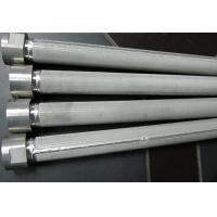 China High Filtering Accuracy Wire Mesh Filter Element For Water Treatment , SGS Listed on sale