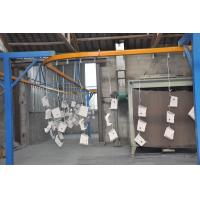 China Control Box Automatic Powder Coating Line Tunnel Oven and Immersion Tank on sale