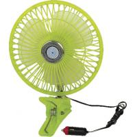 """China Plastic Green Car Cooling Fan Full Safety Plastic Guard  8"""" Oscillating wholesale"""