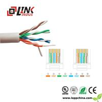 China LAN CABLE CAT5E networking cabling 4pairs twisted pair utp ftp sftp cable on sale