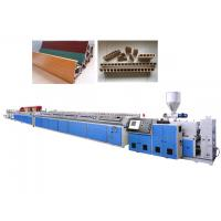 China Two Screw WPC Extrusion Machine For Window Frame With Siemens Standard Motor on sale