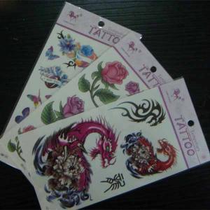 China Temporary dragon tattoo, animal tattoo, kids satety tattoo, Fake tattoo on sale