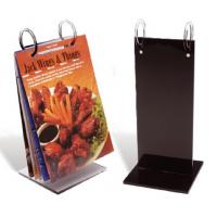 China Fashionable Custom Acrylic Menu Holders With Excellent Service wholesale