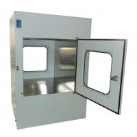 China Microelectronics Clean Room Air Shower Pass Box External Size 950X1100X1300mm wholesale