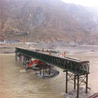 China Easy Assemble Floating Pontoon Bridge Emergency Use Temporary Steel Bridge wholesale