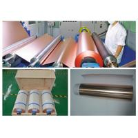 China ISO Approval Battery Copper Foil Sheet , LB Single Shiny Copper Sheet Roll wholesale