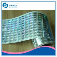China Customized Roll Stickers , Clothing / Beverage Anti Counterfeiting Labels wholesale