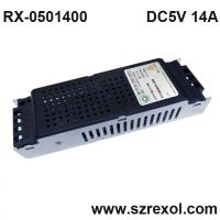 China DC 5V 14A switching mode power supply AD screen power supply on sale