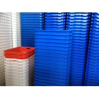 China new type hot sale colorful plastic storage baskets wholesale