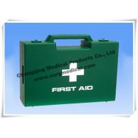 China Double First Aid Plastic Box HSE Compliant For Workplace / Shop / Warehouse wholesale