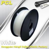 China PCL Low Temperature 3D Filament,1.75 /3.0mm ,Widely Used In Food And Medical Fields. wholesale