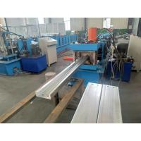 China C Purlin Channel Roll Forming Machine With Punching Holes Function 5.5kw on sale