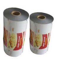 China Sealing strength Color printed plastic roll film, Antistatic, moistureproof wholesale