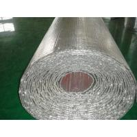 China Heat Foil Bubble Insulation Roll, Bubble Foil For Fireplace, Insulation Material wholesale