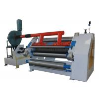 China Steam Heating Corrugated Cardboard Production Line Vacuum Single Facer Machine wholesale