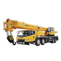China 25 Ton Truck Mounted Mobile Crane , Weight Lifting Crane Max Lifting Height 42.15m wholesale