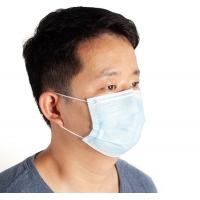 China 3 Ply 99% BFE Dust Free Dental Antibacterial ESD Face Mask wholesale