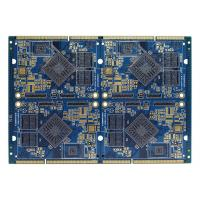 China FR4 Electronics Air Conditioner Part PCB Multilayer Board Blue Soldermask wholesale