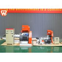 China 15kw Fish Feed Extruder Machine Capacity 30kg/H-2t/H Low Power Consumption wholesale