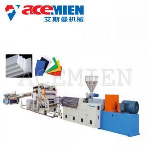 China Thermocol Paper Foam Plate Making Machine PVC Free Foam Sheet Production wholesale