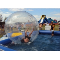 China 2M Transparent Inflatable Water Games Zorb Walking Ball wholesale